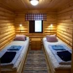 Nestorinkin makuuhuoneet ovat kahdelle.