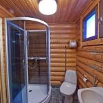 Suihkunurkkaus ja wc.